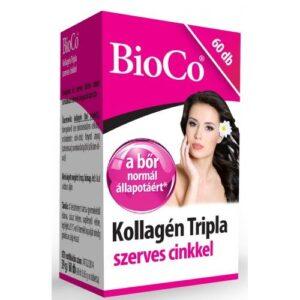 BioCo kollagén tripla szerves cinkkel - 60db