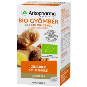 Arkocaps Bio Gyömbér kapszula - 45db