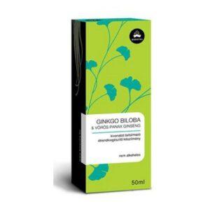 Bioextra Ginkgo Biloba és Red Panax ginseng extraktum - 50 ml