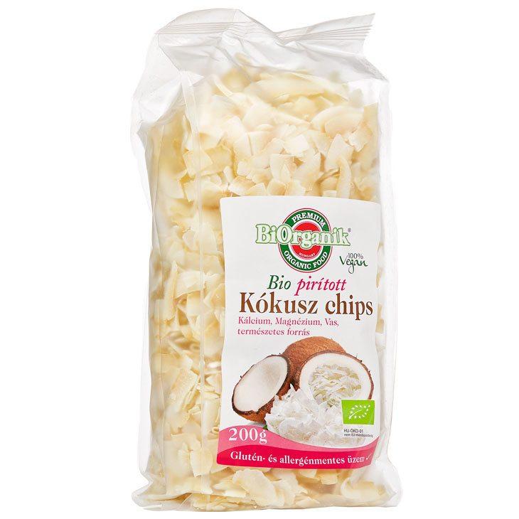 Biorganik bio kókusz chips - 200g