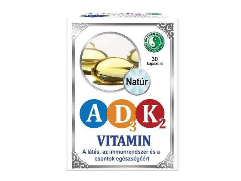 Dr. Chen A+D3+K2-vitamin kapszula - 30db