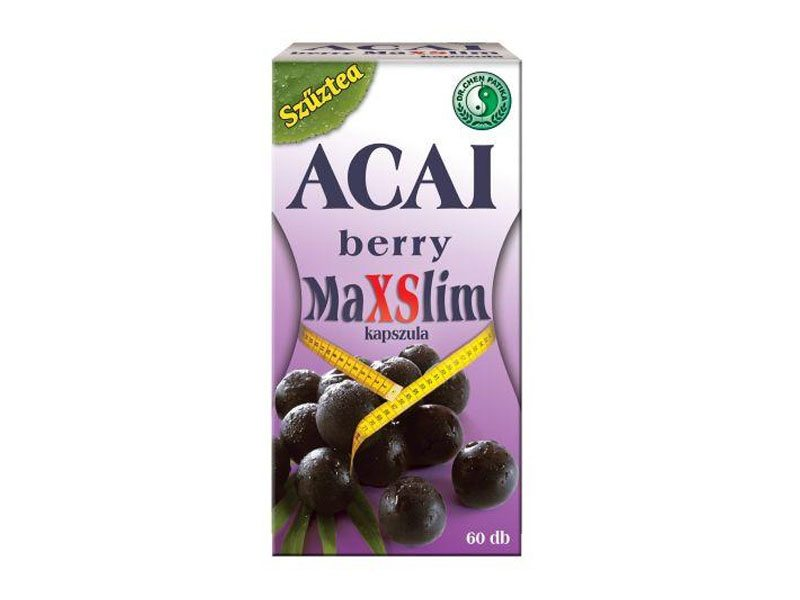 Dr. Chen Acai Berry Max Slim kapszula - 60db