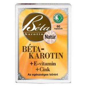 Dr. Chen Béta-Karotin + E-vitamin + Cink kapszula