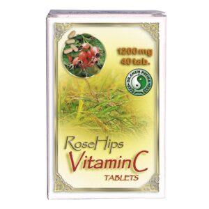 Dr. Chen C-vitamin 1200mg csipkebogyóval tabletta – 40db