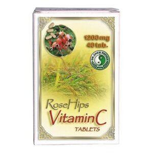 Dr. Chen C-vitamin csipkebogyóval tabletta - 40db