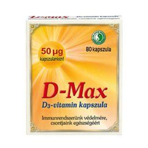 Dr. Chen D-max D3-vitamin kapszula - 80db