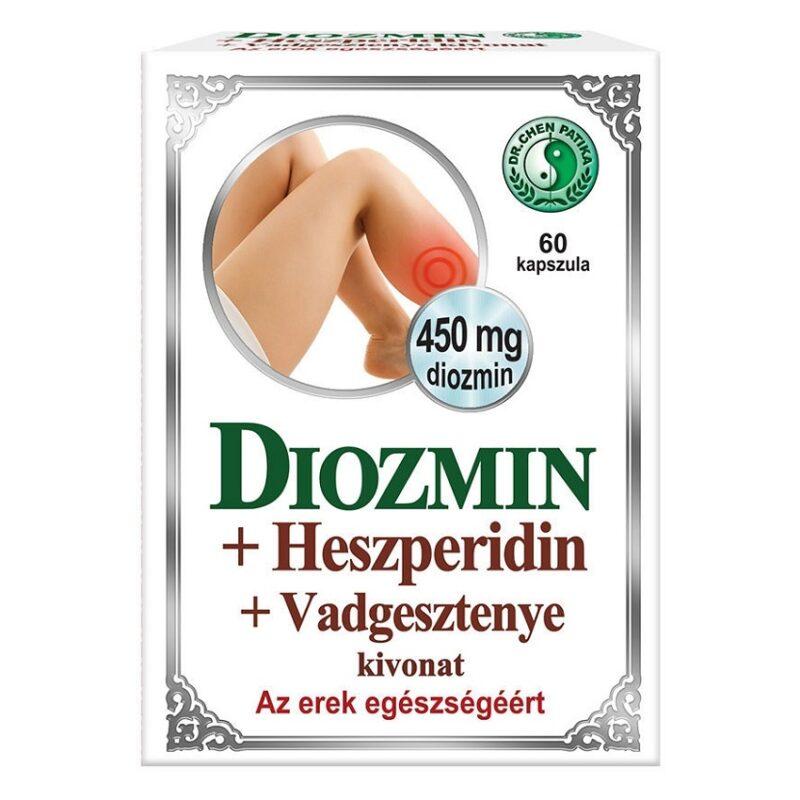 Dr. Chen Diozmin + Heszperidin + Vadgesztenye kapszula - 60db