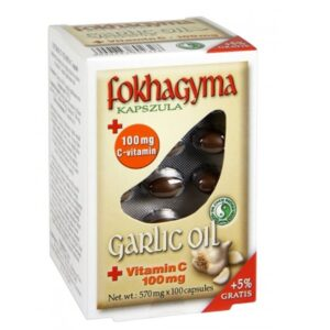 Dr. Chen Fokhagyma + C-vitamin kapszula - 100db