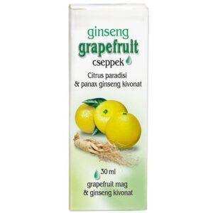 Dr. Chen ginseng grapefruit cseppek – 30ml