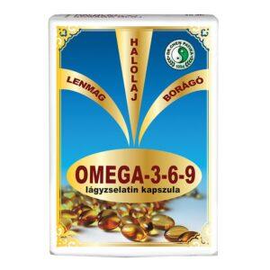 Dr. Chen Omega-3-6-9 lágyzselatin kapszula – 30db