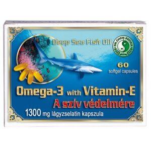 Dr. Chen Omega-3 + E-vitamin 1300mg kapszula – 60db