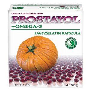 Dr. Chen Prostayol + Omega-3 kapszula – 10x10db