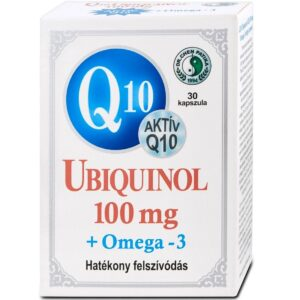 Dr. Chen Q10 Ubiquinol 100mg + Omega-3 kapszula – 30db