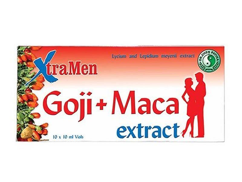 Dr. Chen xtramen goji + maca ampulla - 10x10ml