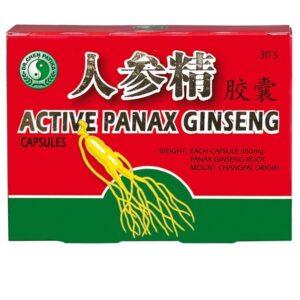 Dr. Chen aktív panax ginseng kapszula - 30db