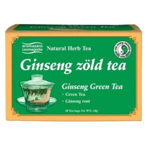 Dr. Chen ginseng ginkgo és zöldtea - 20filter