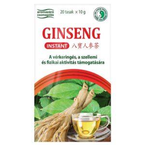 Dr. Chen ginseng instant tea – 20filter