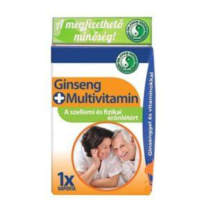 Dr. Chen ginseng + multivitamin kapszula - 30db
