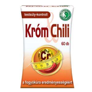 Dr. Chen króm chili kapszula – 60db