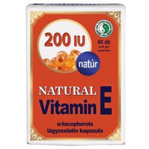 Dr. Chen natural E-vitamin kapszula – 60db