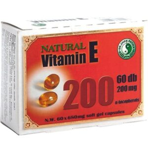 Dr. Chen natural E-vitamin kapszula - 60db