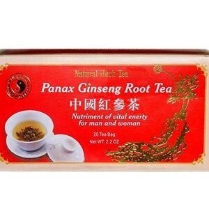 Dr. Chen panax ginseng vörös filteres tea - 20filter