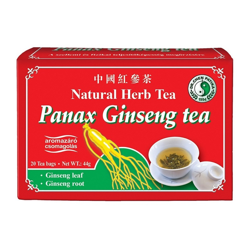 Dr. Chen panax ginseng vörös filteres tea – 20filter