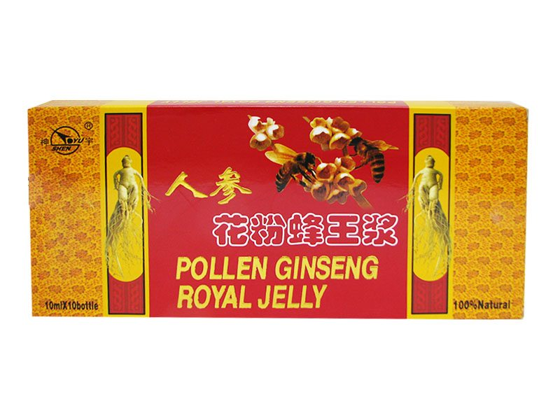 Dr. Chen pollen ginseng royal jelly ampulla - 10x10ml