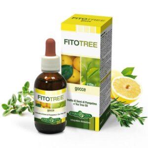 Erba Vita FitoTree grapefruit és teafa alapú fertőtlenítő olaj – 10ml