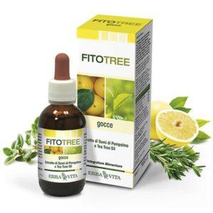 Erba Vita FitoTree grapefruit és teafa alapú fertőtlenítő olaj – 30ml
