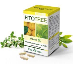 Erba Vita FitoTree grapefruit és teafa kapszula - 60db