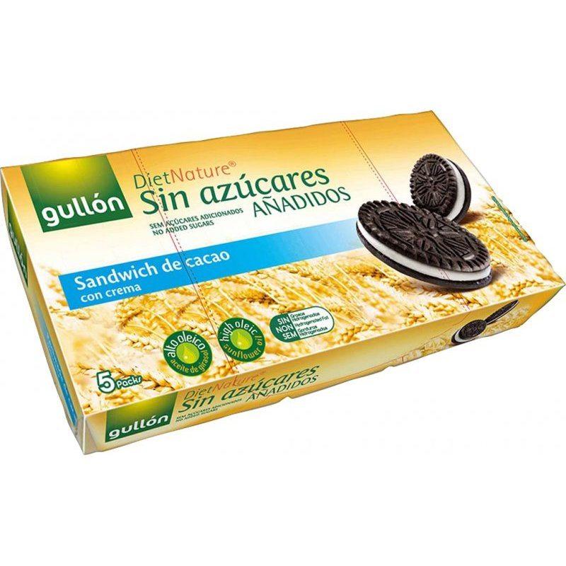 Gullón diabetikus kakaós keksz oreo - 210g
