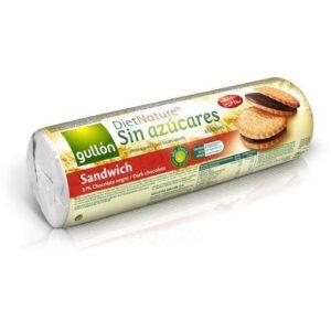 Gullón diabetikus szendvicskeksz étcsokis - 250g