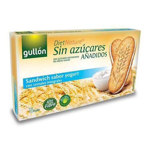 Gullón diabetikus szendvicskeksz joghurtos - 250g