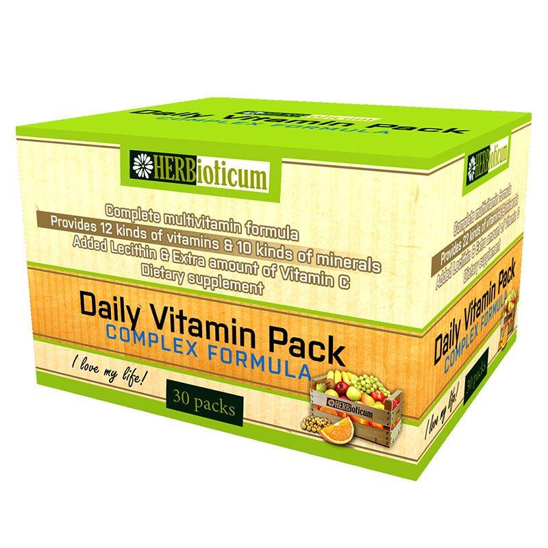 Herbioticum Daily Vitamin pack - 30 tasak