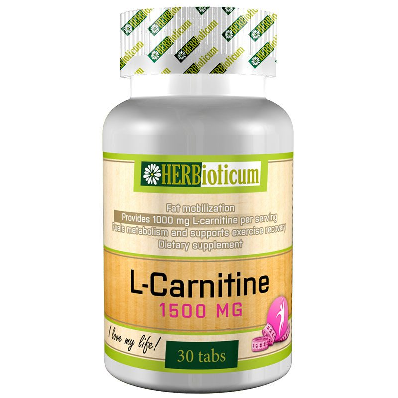 Herbioticum L-carnitine 1500mg tabletta - 30db