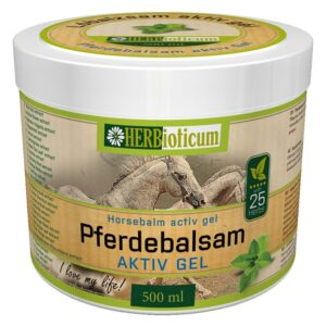 Herbioticum Lóbalzsam aktív gél 25 gyógynövénnyel - 500ml