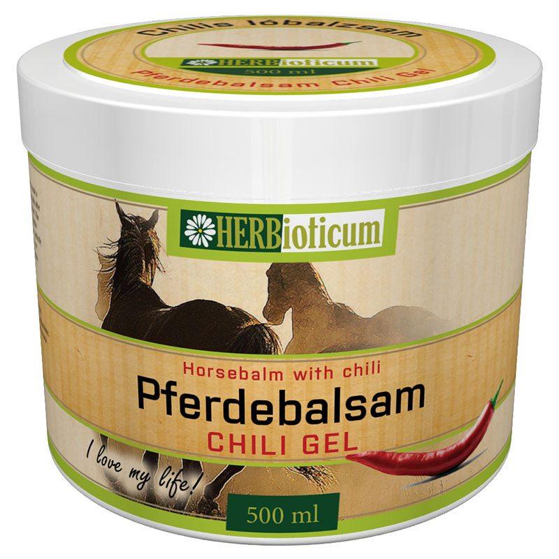 Herbioticum Lóbalzsam chilis - 500ml