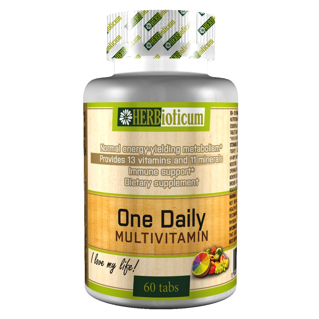 Herbioticum One Daily multivitamin tabletta - 60db