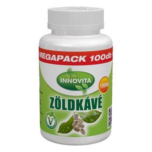 Innovita zöldkávé megapack tabletta - 100db