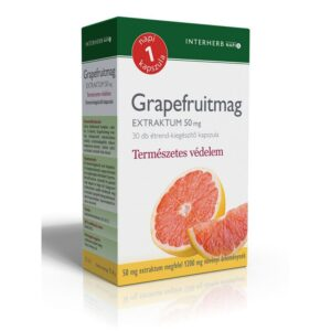 Interherb Grapefruitmag extraktum kapszula - 30db