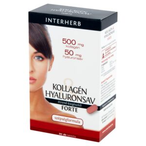 Interherb Kollagén Hyaluronsav Forte tabletta - 30 db