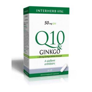 Interherb Q10 és Ginkgo Biloba extraktum
