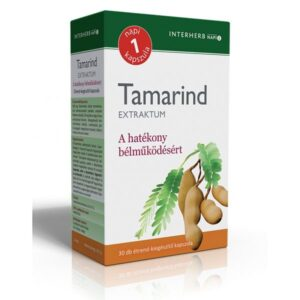 Interherb Tamarind extraktum kapszula - 30db
