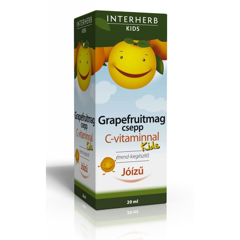 Interherb Vital Grapefruitmag csepp Kids C-vitaminnal - 20 ml