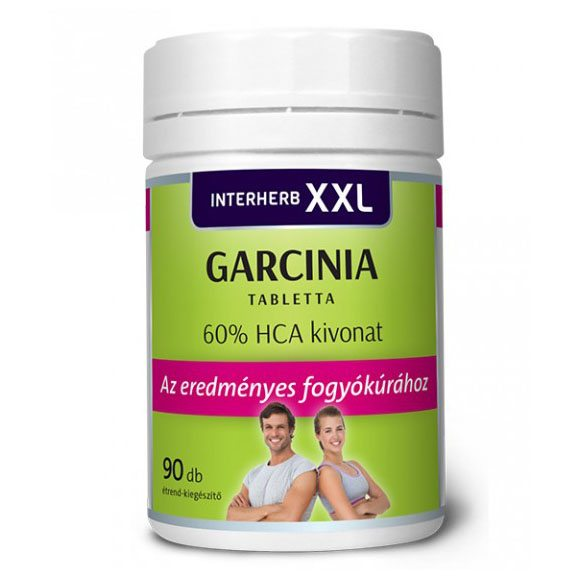 Interherb XXL Garcinia tabletta - 90db