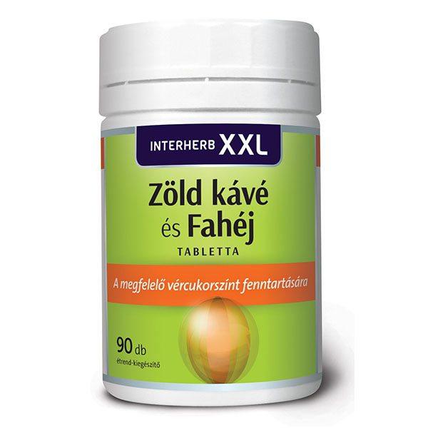 Interherb XXL valeriana és citromfű tabletta - 90 db