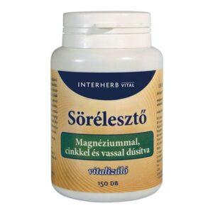 Interherb sörélesztő tabletta magnéziummal