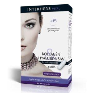 Interherb Kollagén Hyaluronsav Extra kapszula - 30 db
