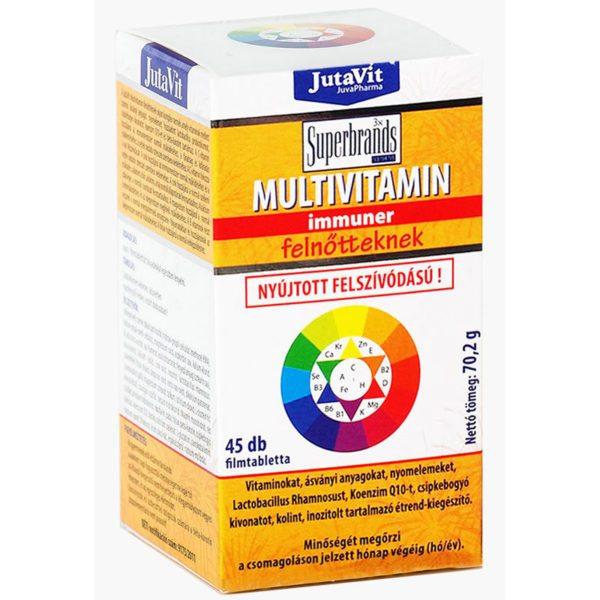 Jutavit multivitamin felnőtt tabletta - 45db
